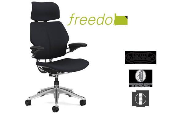 Freedom chair, world leading ergonomic office chair.